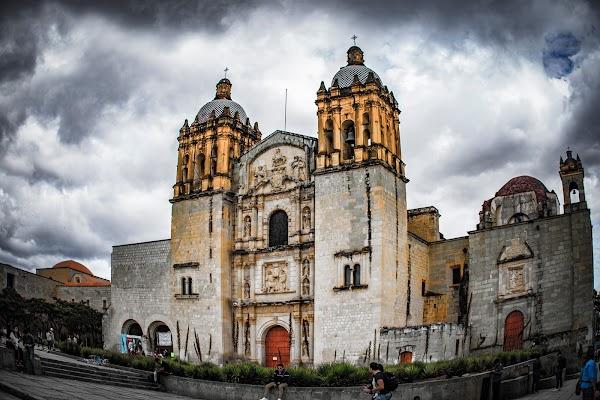 Popular tourist site Templo de Santo Domingo in Oaxaca