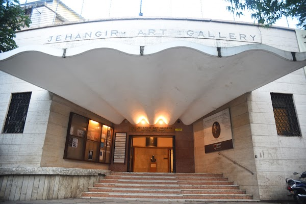 Popular tourist site Jehangir Art Gallery in Mumbai