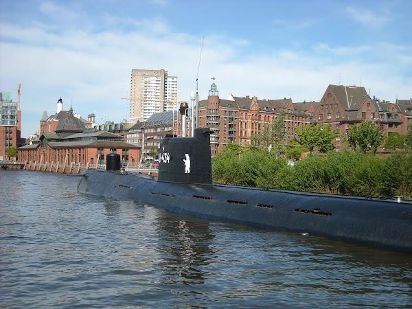 Popular tourist site U-Boat Museum, Hamburg GmbH in Hamburg