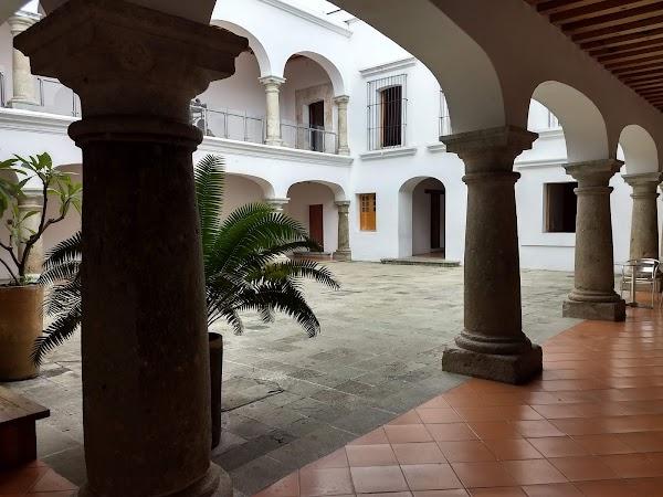 Popular tourist site Contemporary Art Museum in Oaxaca