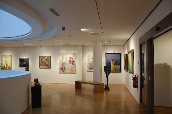 Popular tourist site Galéria NEDBALKA in Bratislava