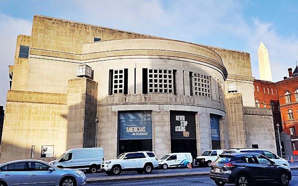 Popular tourist site United States Holocaust Memorial Museum in Washington D.C.