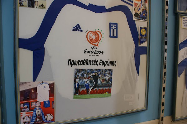 Popular tourist site Greek National Football Team Museum in Chania