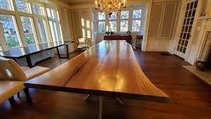 Wood Touch LLC Reclaimed Live Edge Tables Beams, Pergolas & Mantels NJ