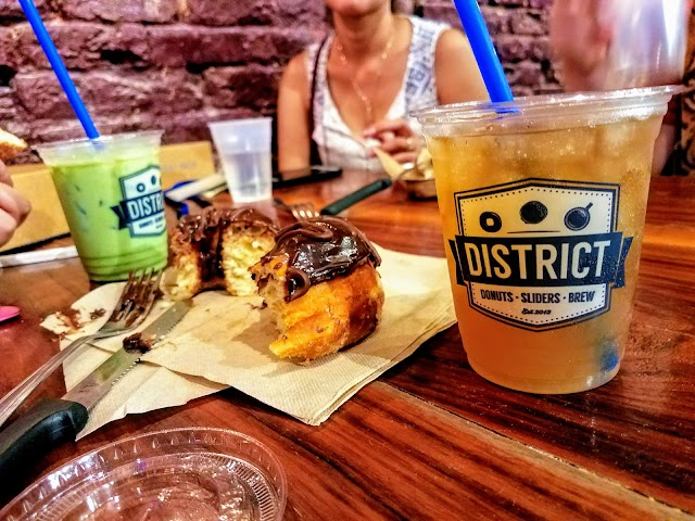 District Donuts Sliders Brew