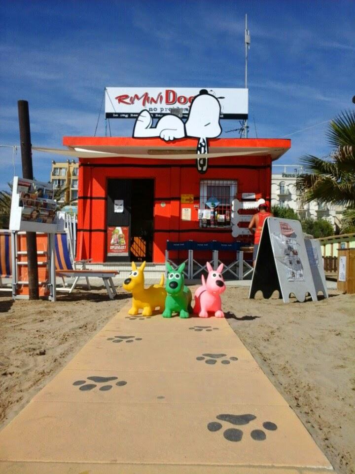 Spiaggia per cani a Rimini - Rimini Dog No problem