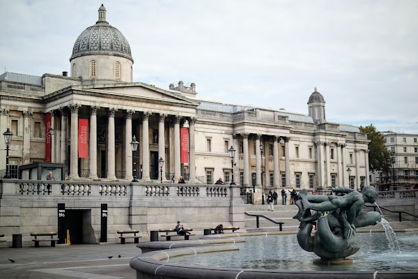 Popular tourist site The National Gallery in London