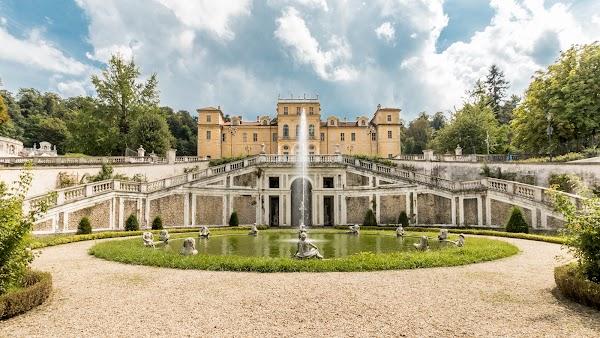 Popular tourist site Villa della Regina in Turin