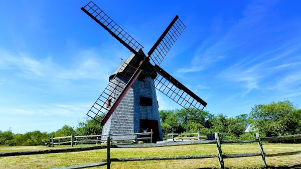 Popular tourist site Old Mill in Nantucket