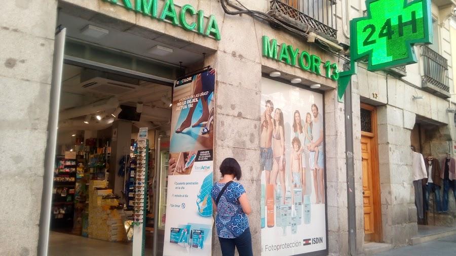 Foto farmacia FARMACIA MAYOR 13