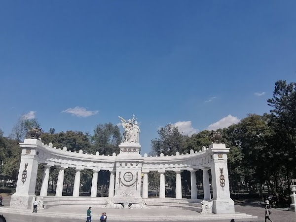Popular tourist site Alameda Central in Mexico City