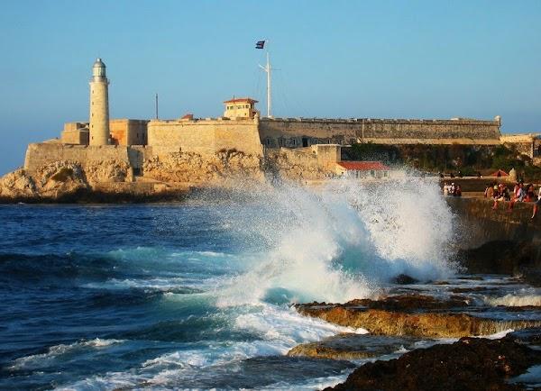 Popular tourist site Castillo De Los Tres Reyes Del Morro in Havana