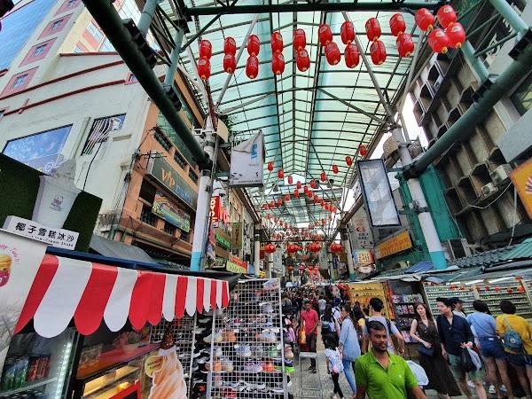 Popular tourist site Chinatown in Kuala Lumpur