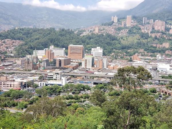 Popular tourist site Pueblito Paisa in Medellin
