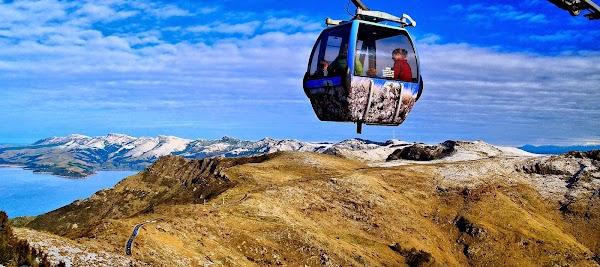 Popular tourist site Christchurch Gondola in Christchurch