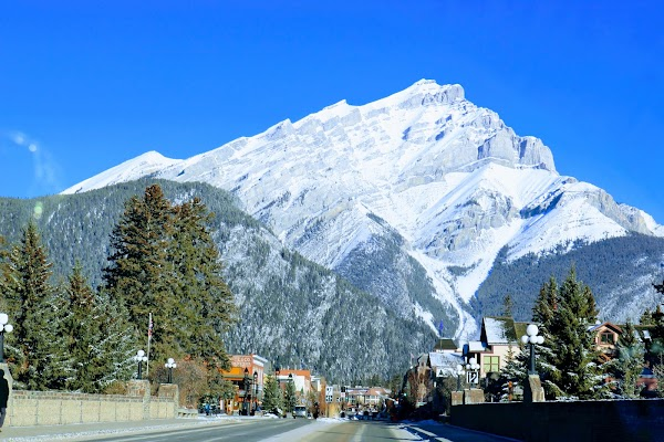 Popular tourist site Town Of Banff in Banff
