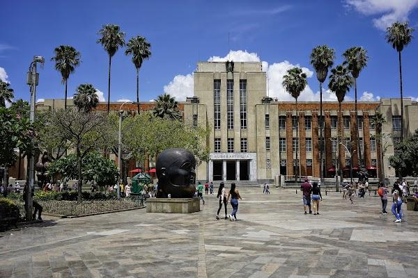 Popular tourist site Antioquia Museum in Medellin