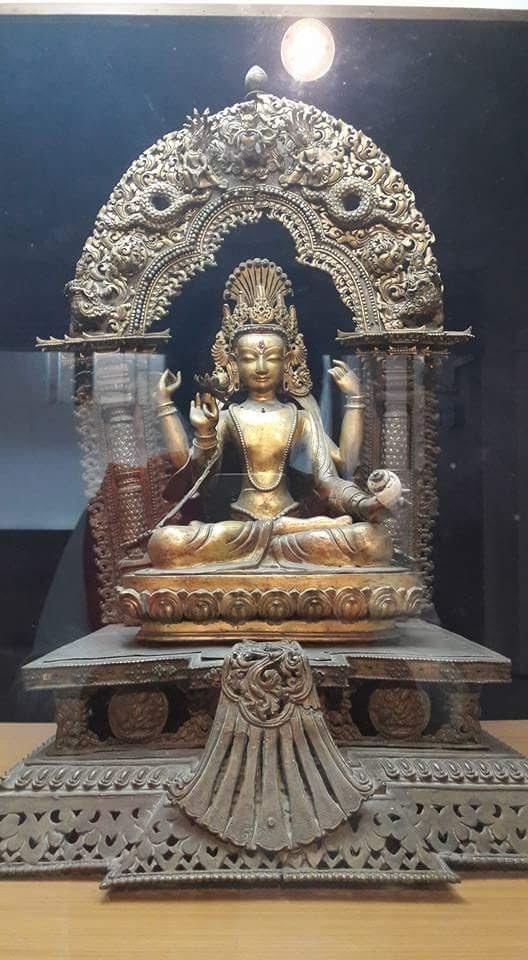 Popular tourist site Sri Chitra Art Gallery in Trivandrum