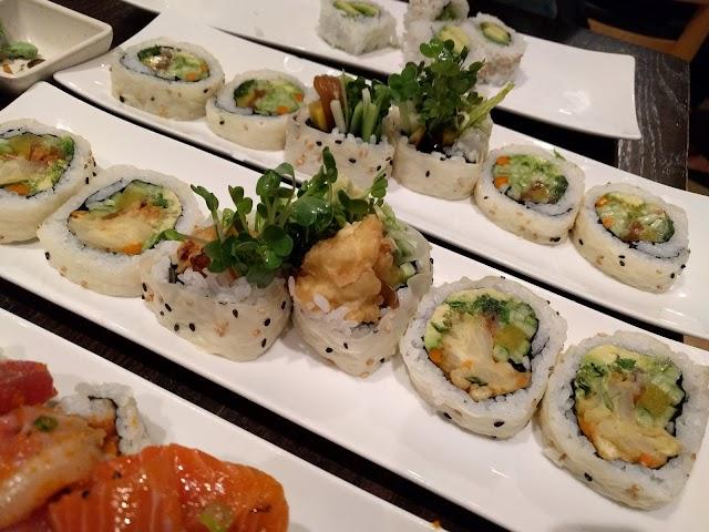 Ikiru Sushi banner backdrop