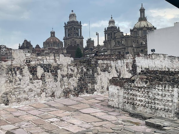 Popular tourist site Templo Mayor Museum in Mexico City