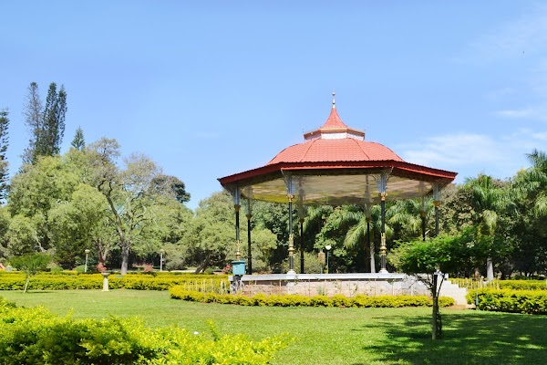 Popular tourist site Cubbon Park in Bengaluru