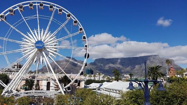 Popular tourist site The Cape Wheel in Cape Town