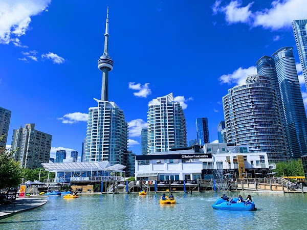 Popular tourist site Harbourfront Centre in Toronto