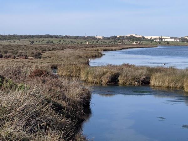 Popular tourist site Castro Marim and Vila Real de Santo Antó in Algarve