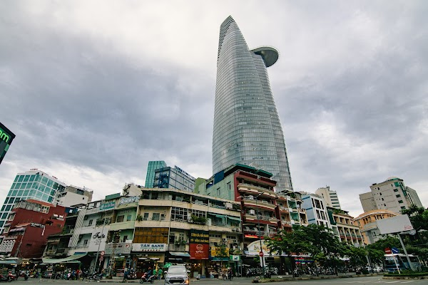 Popular tourist site Bitexco Financial Tower in Ho Chi Minh City