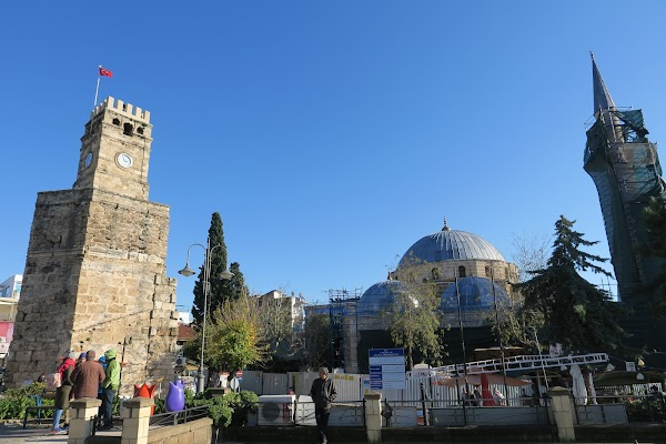 Popular tourist site Antalya Kaleiçi (Old Town) in Antalya