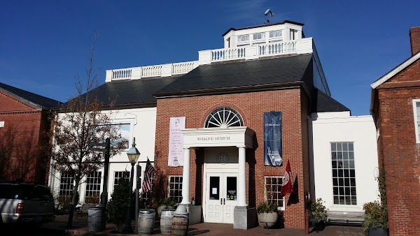 Popular tourist site Whaling Museum in Nantucket