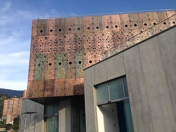 Popular tourist site Medellin Modern Art Museum in Medellin
