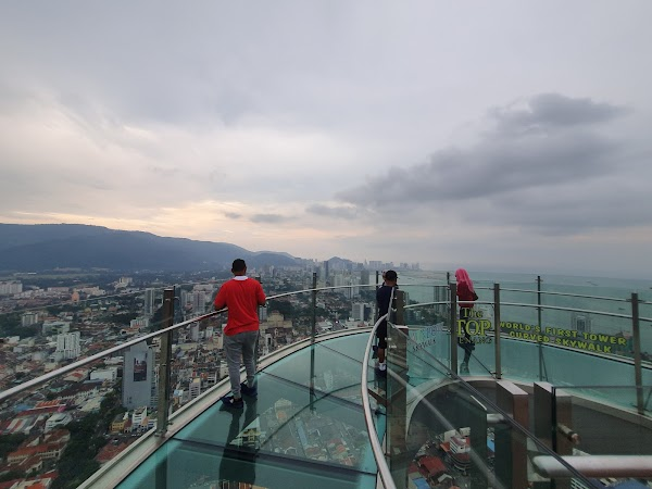 Popular tourist site The Top Penang in Penang