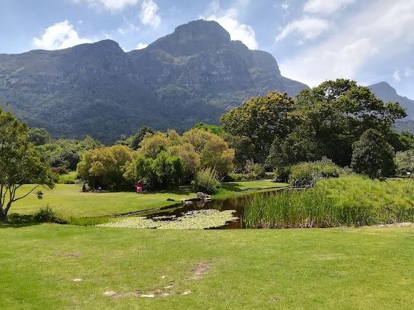 Popular tourist site Kirstenbosch National Botanical Garden in Cape Town