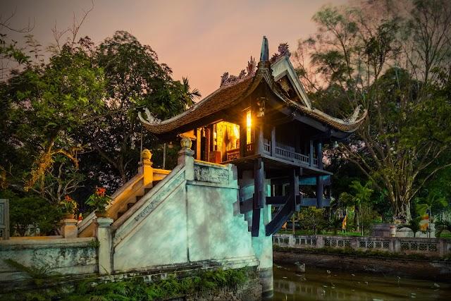List item One Pillar Pagoda image