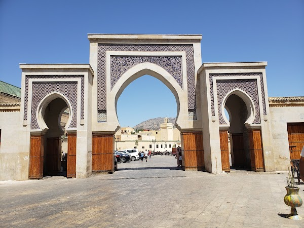 Popular tourist site Bab Rcif in Fez