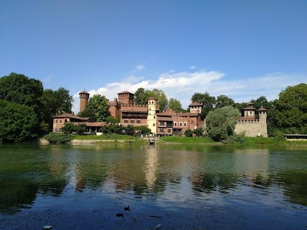 Popular tourist site Parco del Valentino in Turin