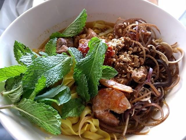 Crawfish & Noodles