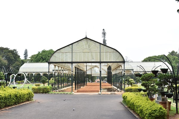 Popular tourist site Lalbagh Botanical Garden in Bengaluru