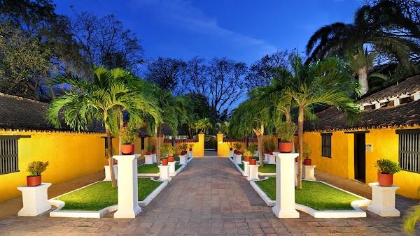 Popular tourist site Quinta de San Pedro Alejandrino in Santa Marta