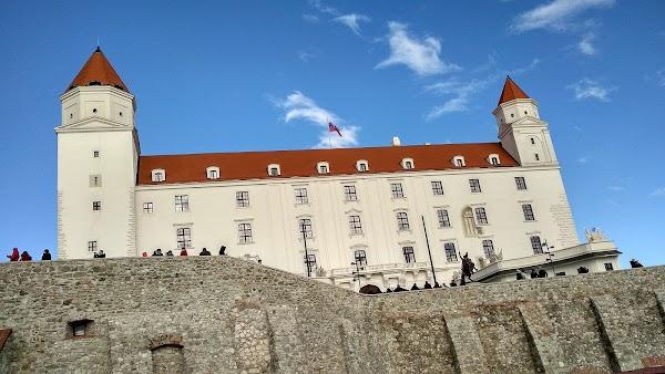 Popular tourist site Bratislava Castle in Bratislava