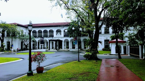 Popular tourist site Presidential Museum and Library - Malaca in Manila
