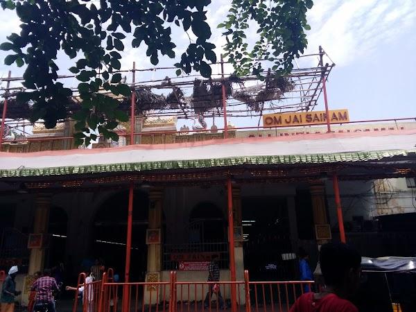 Popular tourist site Shree Sai Baba Temple in Chennai