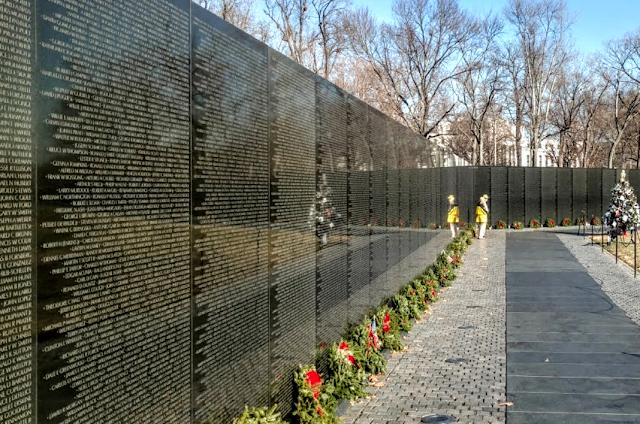 List item Vietnam Veterans Memorial image