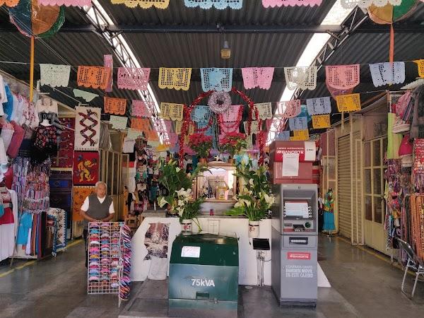 Popular tourist site Mercado de Artesanías in Oaxaca