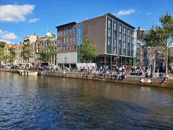 Popular tourist site Anne Frank House in Amsterdam