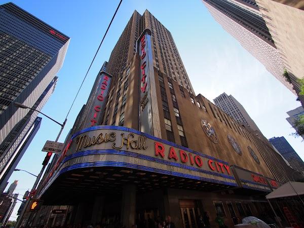 Popular tourist site Radio City Music Hall in New York