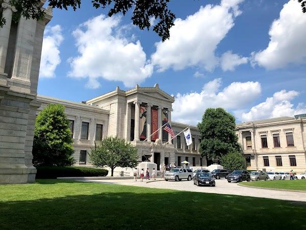 Popular tourist site Museum of Fine Arts, Boston in Boston