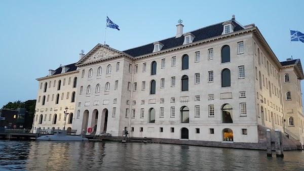 Popular tourist site Het Scheepvaartmuseum in Amsterdam