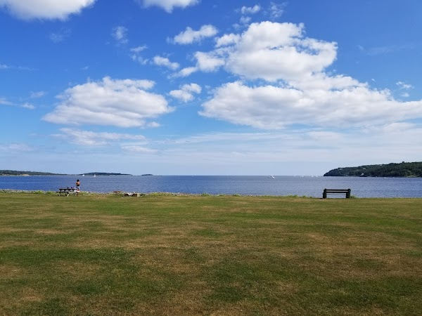 Popular tourist site Point Pleasant Park in Halifax